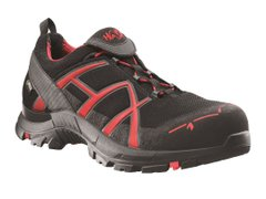 Кроссовки HAIX Black Eagle Safety 40 Low Black / Red
