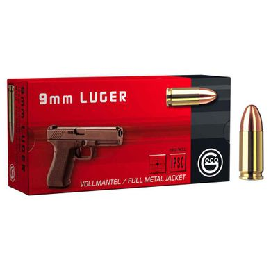 Патрон Geco кал. 9x19 Luger FMJ 124grns / 8гр