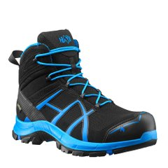 Напівчеревики берці HAIX Black Eagle Safety 40 Mid Black/Blue