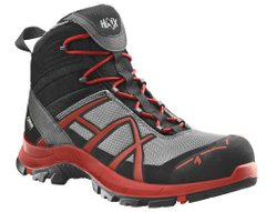 Полуботинки берцы HAIX Black Eagle Safety 40 Mid Stone / RED