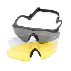 Лінза Revision Sawfly Max Lens Yellow жовта Clear Nosepiece