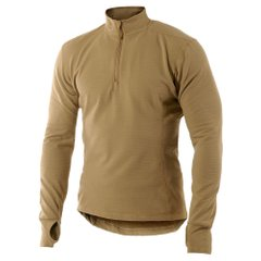 Поло термобілизна Garm Thermal HSO Zip Neck FR Coyote Brown світло-коричнева, L