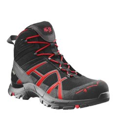 Напівчеревики берці HAIX Black Eagle Safety 40 Mid Black/Red
